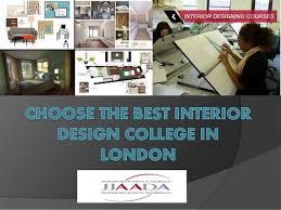 Best Interior Designing Colleges