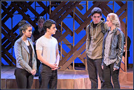 "laramie project years later"" the back story  brooke wrubel jacob leaf charlie zuckerman and jackie rhoads in the laramie"