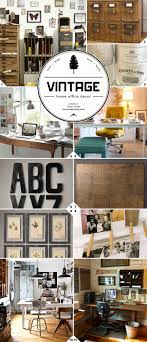 vintage home office accessories and decor ideas vintage office ideas e14 ideas