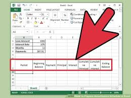 Amortization Schedule Formula Excel How To Prepare Amortization Schedule In Excel 10 Steps
