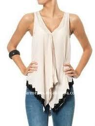<b>Liva Girl</b> Chiffon Top Shirt Women Blouse <b>Casual</b> Sleeveless Tunic ...