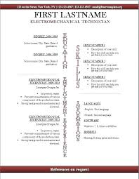 Resume Templates For Openoffice Free Simple Resume Templates For Openoffice Open Office Resume Templates Office
