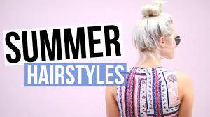 5 Easy Cute Summer Hairstyles Aspyn Ovard Youtube