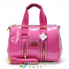 Coach Smooth Medium Luggage Bags Pink