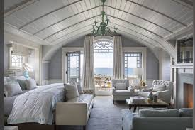 gorgeous homes interior design. the interiors of house are by steven gambrel, including master bedroom, with its custom-made bed and 1950s italian chandelier. gorgeous homes interior design