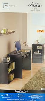 realspacear gladia glass desk 27. Mainstays 3 Piece Home Office Bundle Black.  Black R Realspacear Gladia Glass Desk 27 F