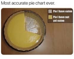 Most Accurate Pie Chart Ever Pie I Have Eaten Pie I Have Not