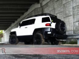 Rtint® Toyota FJ Cruiser 2007-2014 Tail Light Tint Film