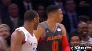 Russell Westbrook SHOVES John Wall ...