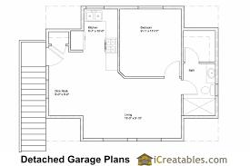 2 Bedroom Garage Apartment Floor Plans  NrtradiantcomGarage With Apartment Floor Plans