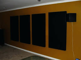 sound blocking panels diy absorbing rockwool home made acoustic cool