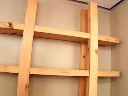 amazing wooden shelf diy how to build reclaimed wood d i y assembly crate storage garage bathroom closet headboard with basement wall