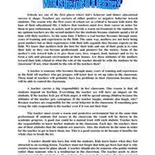 essay in english example thesis statement essay the thesis  who is a teacher essay oklmindsproutco who