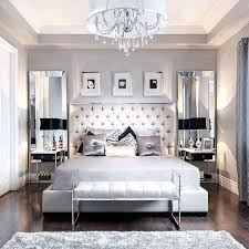 fabulous mirrored furniture. Beautiful Rooms Stunning Interiors Fabulous Home Decor Mirror Bedroom Tufted Grey Headboard Mirrored Furniture