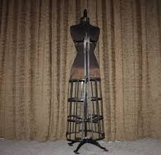 dress makers form antique 1909 hall borchert dress form chicago new york toronto