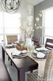 coastal farmhouse table setting a beautiful dining room update with neutral rustic decor found at pier 1 tableandhearth
