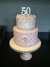 Design My Cake Bling 50 Th Cake Not My Design My Cakes Andrias Cakes