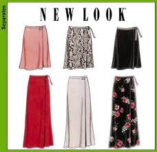 Wrap Skirt Pattern Best New Look 48 Misses Wrap Skirts
