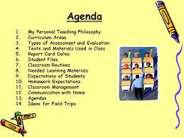 Class Agendas Curriculum Presentation Ppt Video Online Download