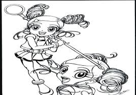 Doll Coloring Page Surprise Doll Coloring Pages Grunge Series 3 New