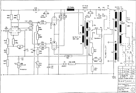 Power and psu schematic with 1x ecc83 2x el34 marshall 1988