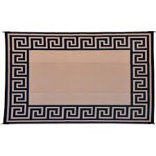 patio mat 9x12 reversible indoor outdoor rug camping mat rv exterior accessories