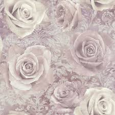 Purple Flower Wallpaper For Bedroom Fleur Mauve Wallpaper From Next Uk Possibly The Bedroom Guest