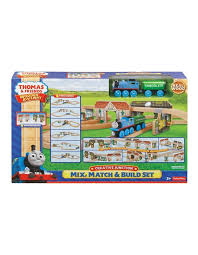 thomas friends wooden railway creative junction mix match build set