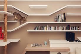 Floating Shelves For Cats Enchanting 32 FelineFriendly Shelves