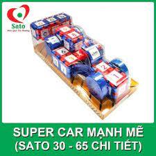 Đồ chơi Xếp hình SUPER CAR MẠNH MẼ 65 chi tiết (Sato30)