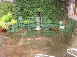 wrought iron vintage patio furniture. Great Vintage Wrought Iron Patio Table And Chairs Salterini Furniture Pinterest N
