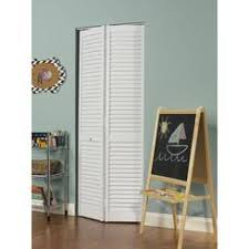 louvered bifold doors. LTL Home Products, Inc. Seabrooke 24-in X 80-in White PVC Louvered Bifold Doors D