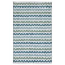 mohawk bath rug zig zag blue haze 20 x 32 meijer