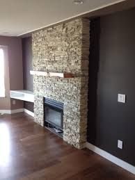 stack stone fireplace. Alderwood Stack Stone Fireplace.JPG Fireplace