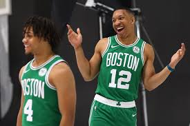Celtics Depth Chart Boston Celtics Romeo Langford Carsen Edwards Grant