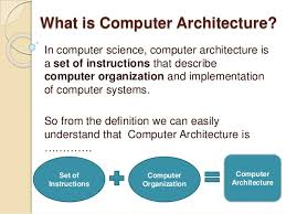 architecture of computer. 3 what is computer architecture of