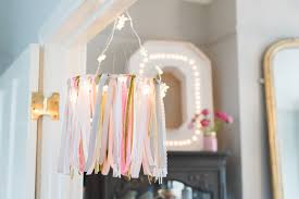 diy ribbon chandelier tutorial rock my family blog uk baby pregnancy and family blog