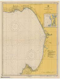 Amazon Com Map Monterey Bay 1948 Nautical Noaa Chart