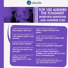 100 interview questions and answers jobzella top 100 interview questions and answers from jobzella