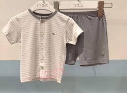 Đồ Bộ Trẻ Em Nous Bộ Cài thẳng Cộc Nous Hè 2020 bộ đồ cho bé