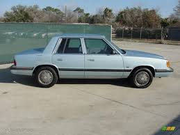 similiar 1989 mopar paint keywords light blue metallic 1989 plymouth reliant k le america exterior photo