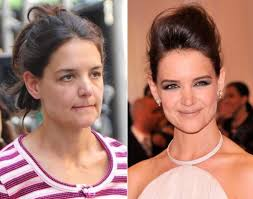 being married to tom cruise can age a as you can see with those eyes when katie s wearing no makeup however katie holmes does have some pretty good