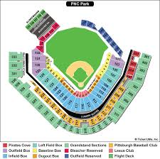 29 Accurate Detailed Seating Chart For Pnc Park