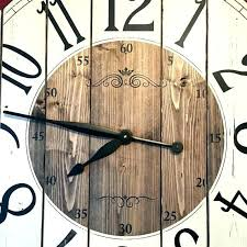 rustic wall clocks large extra large wooden wall clock unique wall clocks large inch farmhouse clock