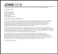 Gallery Of Free Apartment Leasing Consultant Cover Letter Templates