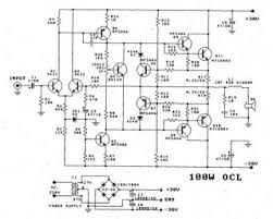 circuit zone com electronic projects electronic schematics diy 100w power amp