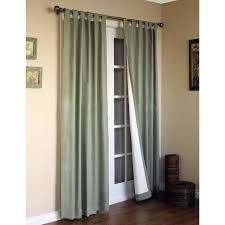 traditional sliding curtain panel which equipped with black