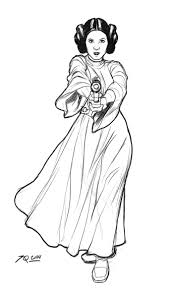 Small Picture Princess leia star wars coloring pages 4 Nice Coloring Pages for
