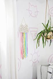 Kid\u0027s Ribbon Rainbow Wall Hanging DIY | A Beautiful Mess | Bloglovin\u0027