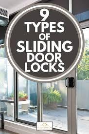 9 types of sliding door locks home